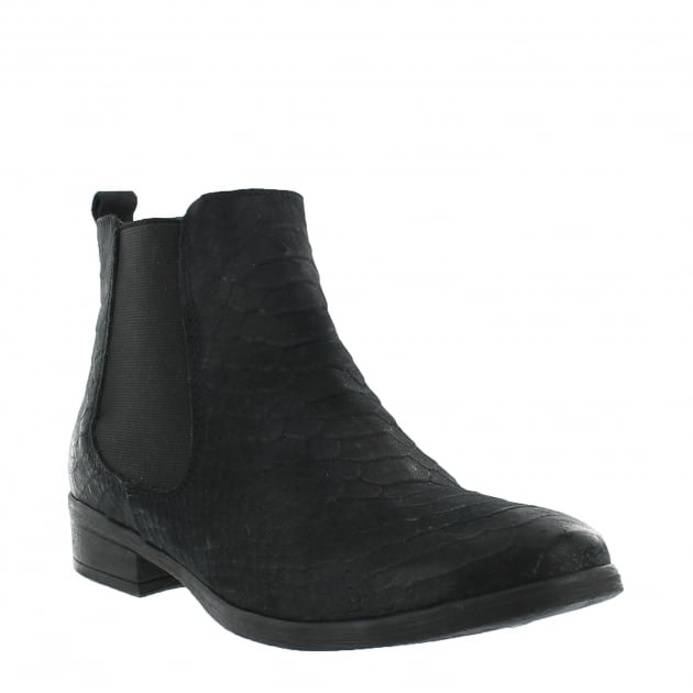 Marta Jonsson Womens Ankle Boots 6524N Black