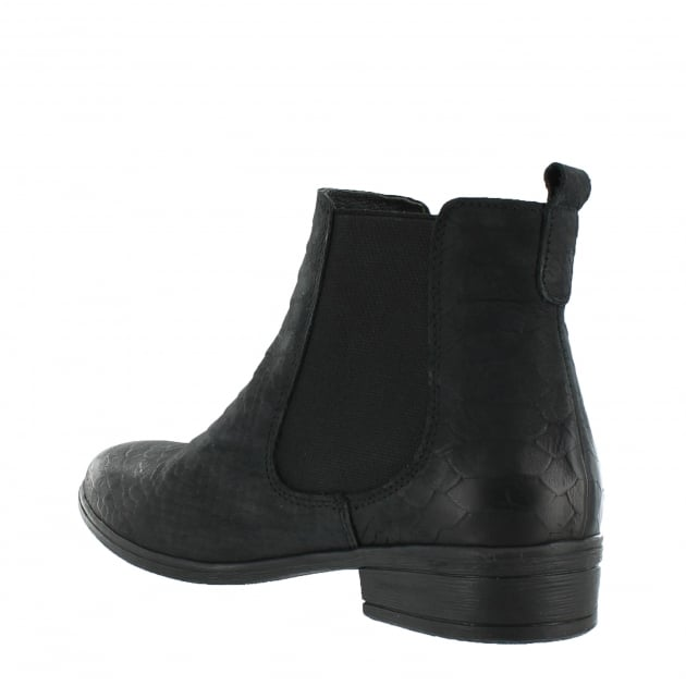 Womens Ankle Boots 6524N Black
