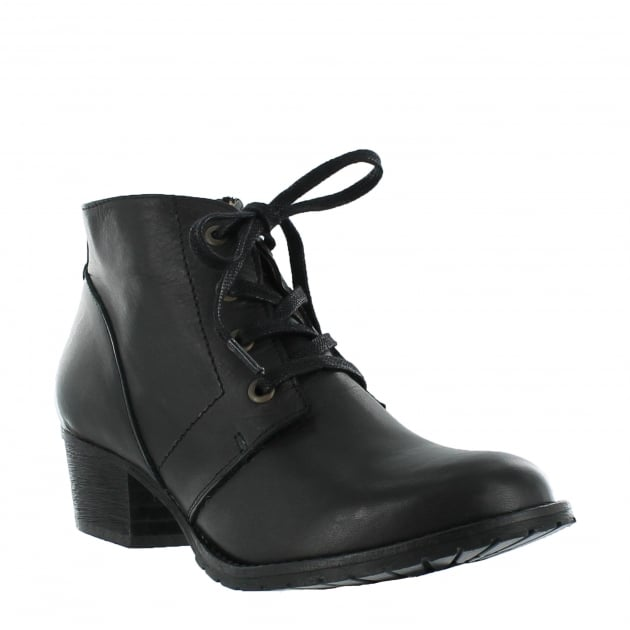 Marta Jonsson Womens Ankle Boots 6533L Black Boots