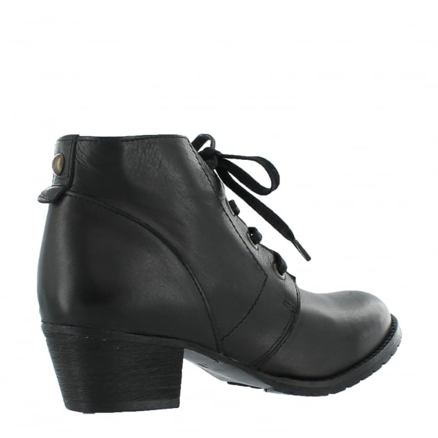 Womens Ankle Boots 6533L Black