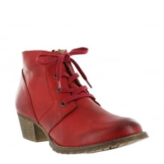 Marta Jonsson Womens Ankle Boots 6533L Red
