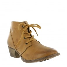 Marta Jonsson Womens Ankle Boots 6533L Tan Boots
