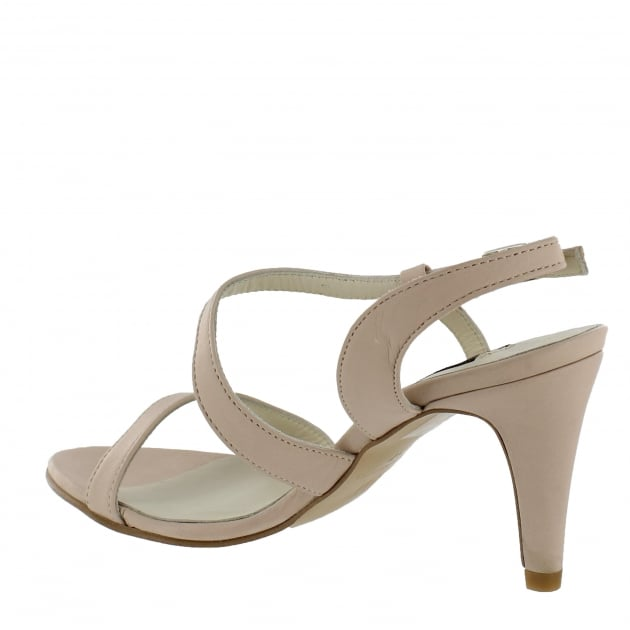 Marta Jonsson Womens Asymetric Sandal 1508L Blush Sandals