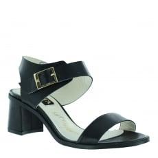 Marta Jonsson Womens Block Heel Sandal 4537L Black