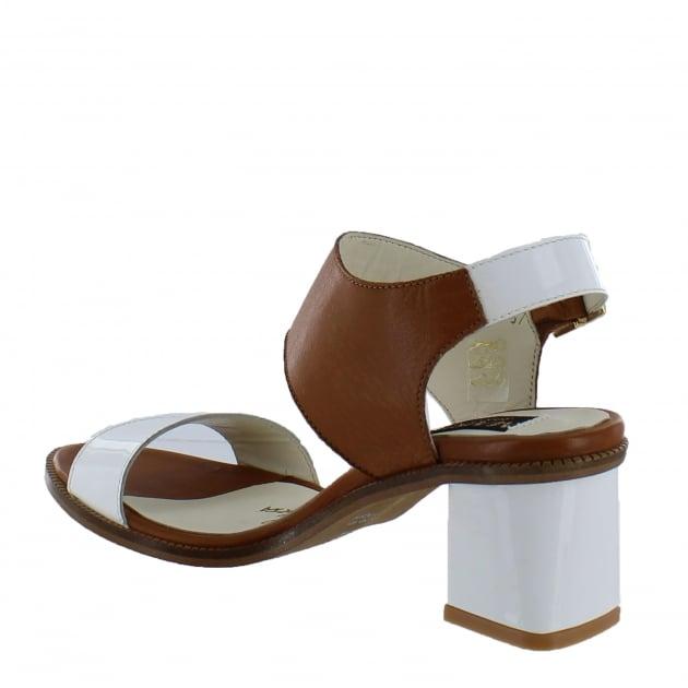 Marta Jonsson Womens Block Heel Sandal 4867L Tan