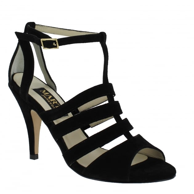 Womens Cage Sandal 1512S Black