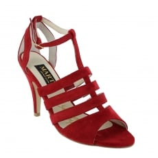 Marta Jonsson Womens Cage Sandal 1512S Red