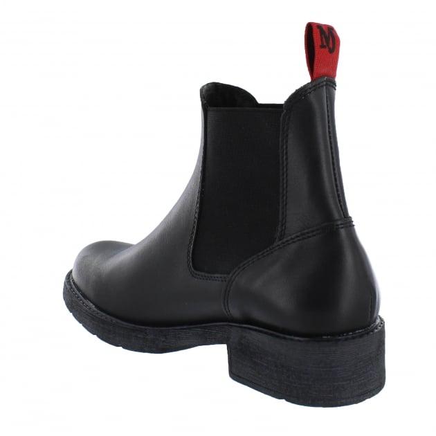 Marta Jonsson Womens Chelsea Ankle Boots 12472L Black
