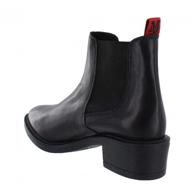 Marta Jonsson Womens Chelsea Ankle Boots 4999L Black Boots