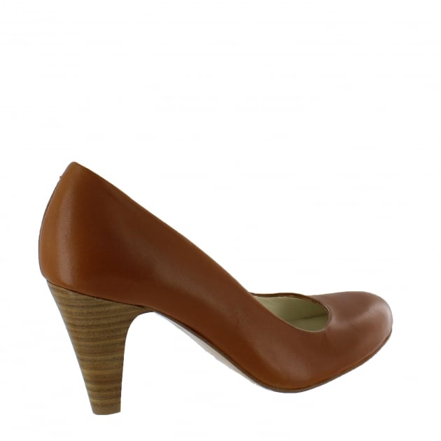 Womens Court Shoe 6118L Tan