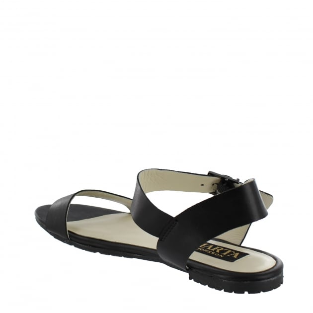 Marta Jonsson Womens Flat Sandals 6622L Black