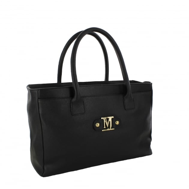 Marta Jonsson Womens Handbag With MJ Detail Black Bag8525