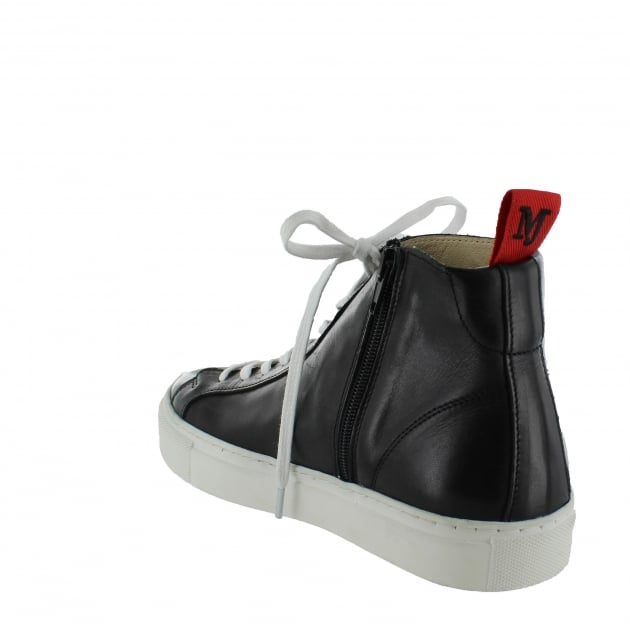 Womens High-Top Trainers 4087L Black