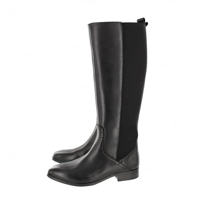 Marta Jonsson Womens Knee High Boot 4332L Black Boots