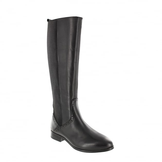 Womens Knee High Boot 4332L Black