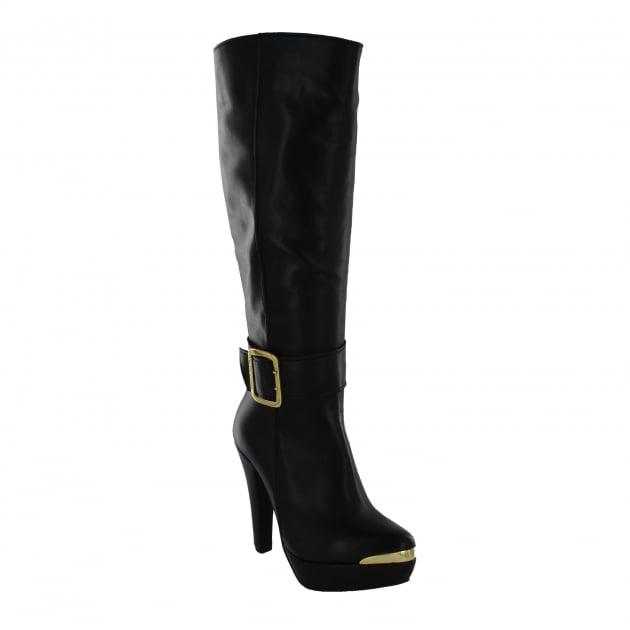 Marta Jonsson Womens Knee High Boot 4848L Black Boots