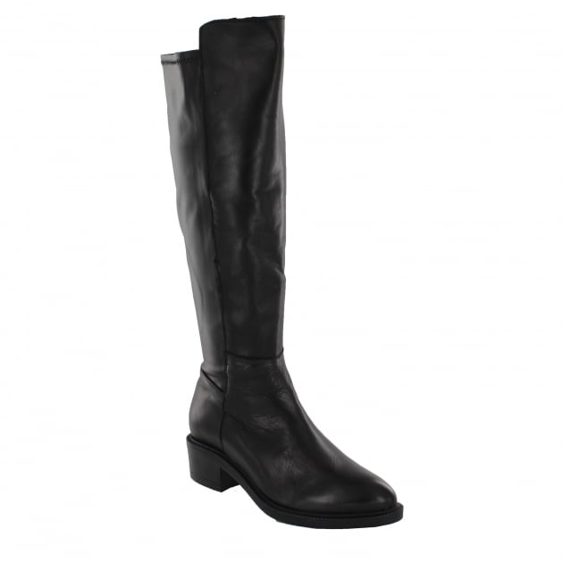 Marta Jonsson Womens Knee High Boots 4859L Black Boots
