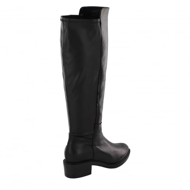 Womens Knee High Boots 4859L Black