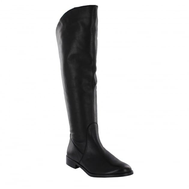 Marta Jonsson Womens Knee High Boots 4889L Black Boots