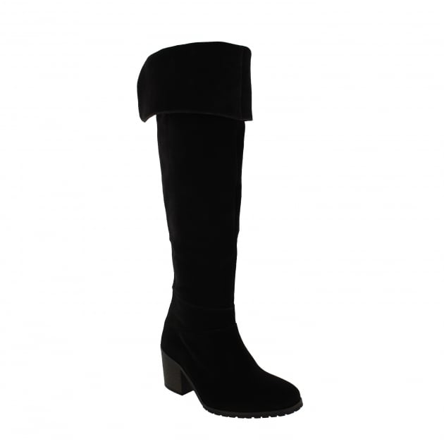 Marta Jonsson Womens Knee High Boots 4891S Black Boots