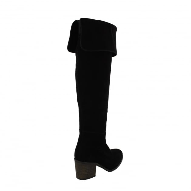 Womens Knee High Boots 4891S Black