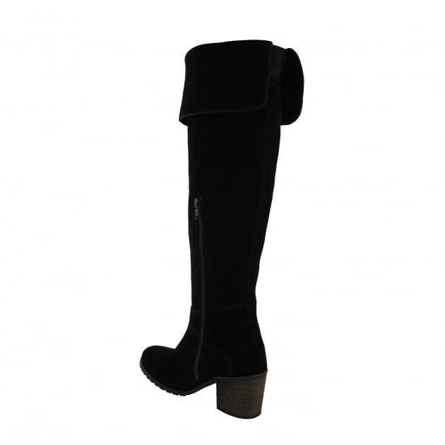 Marta Jonsson Womens Knee High Boots 4891S Black