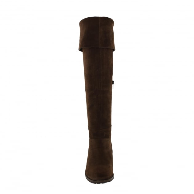 Marta Jonsson Womens Knee High Boots 4891S Brown Boots