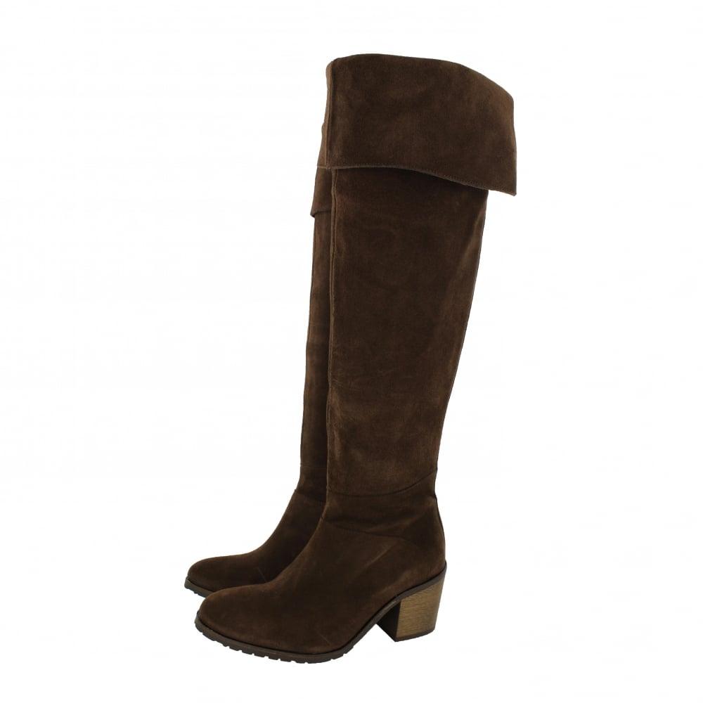 marta jonsson womens knee high boots 4891s s brown