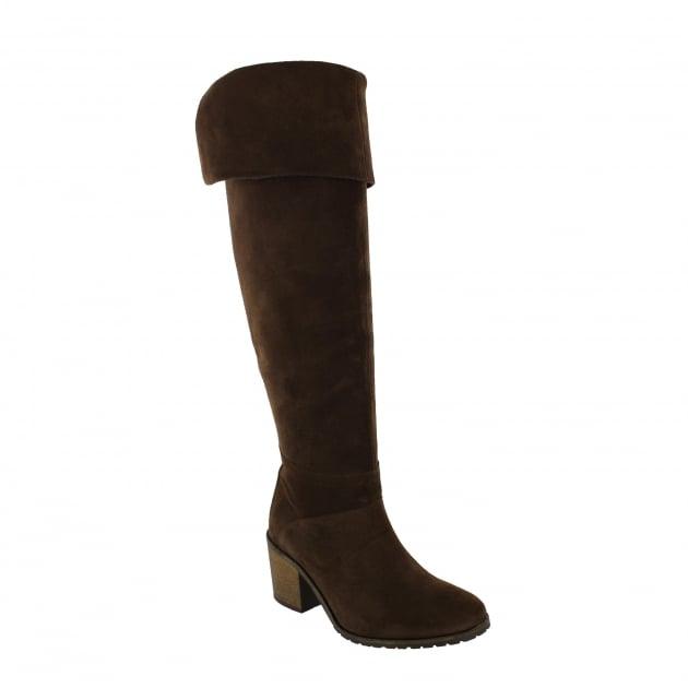 Marta Jonsson Womens Knee High Boots 4891S Brown