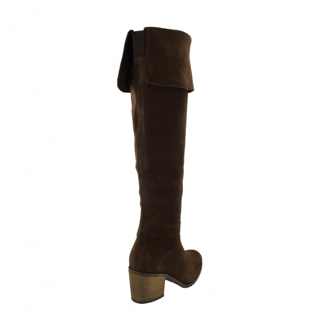 Womens Knee High Boots 4891S Brown