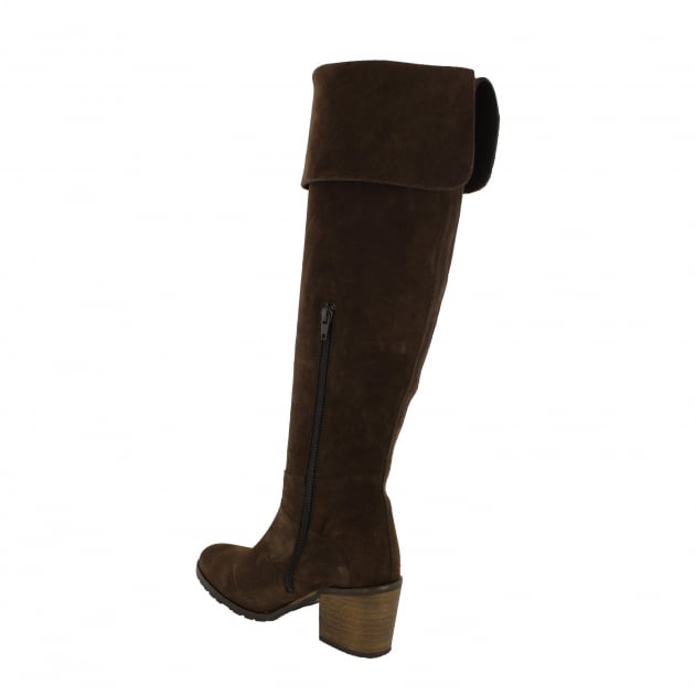 Marta Jonsson Womens Knee High Boots 4891S Brown
