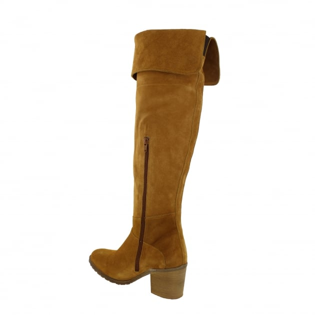 Marta Jonsson Womens Knee High Boots 4891S Tan