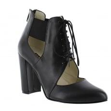 Marta Jonsson Womens Lace Up Shoes 1611 Black