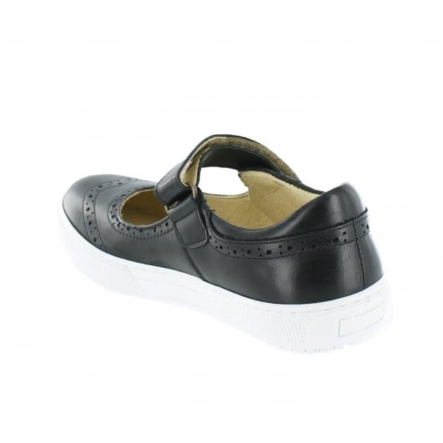 Marta Jonsson Womens Leather Sneaker 5292L Black Shoes
