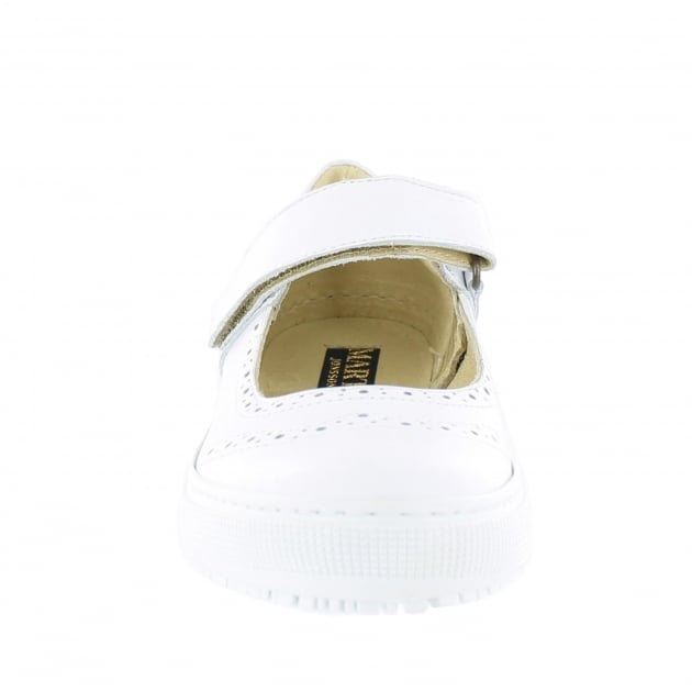 Marta Jonsson Womens Leather Sneaker 5292L White