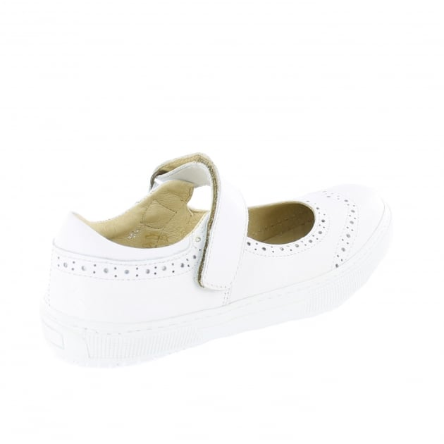 Marta Jonsson Womens Leather Sneaker 5292L White Shoes