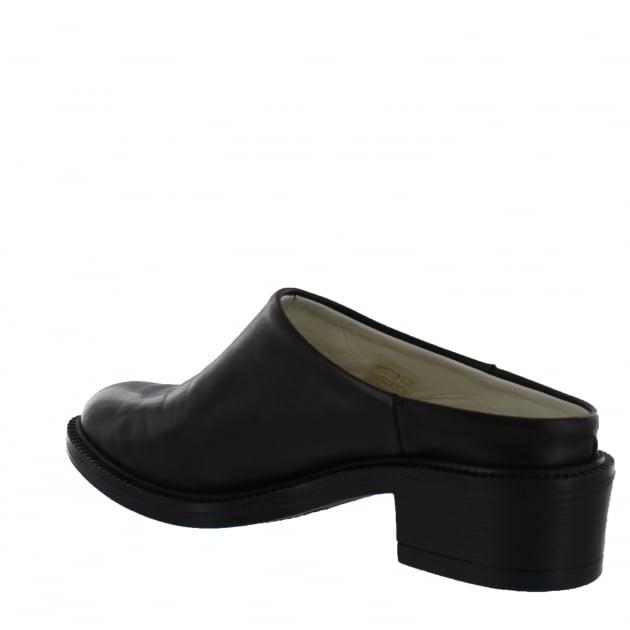 Marta Jonsson Womens Mule Shoe 4852L Black Shoes