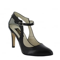 Marta Jonsson Womens Open Court Shoe 5520L Black Shoes
