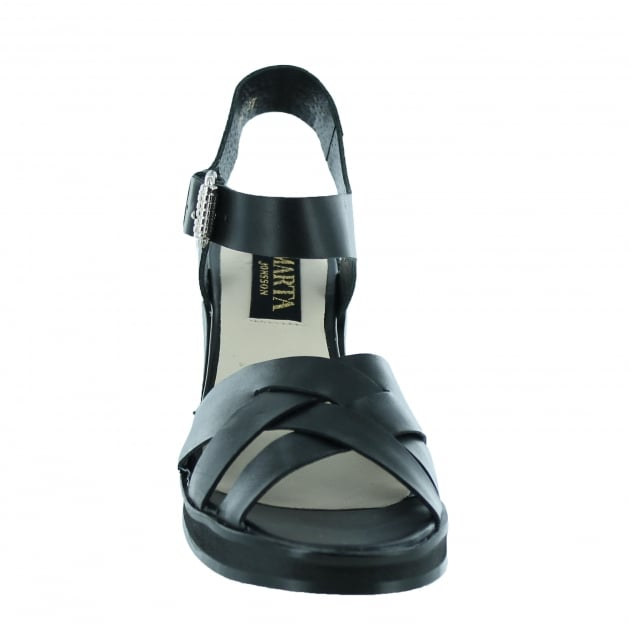 Marta Jonsson Womens Sandal With A Platform 1463L Black