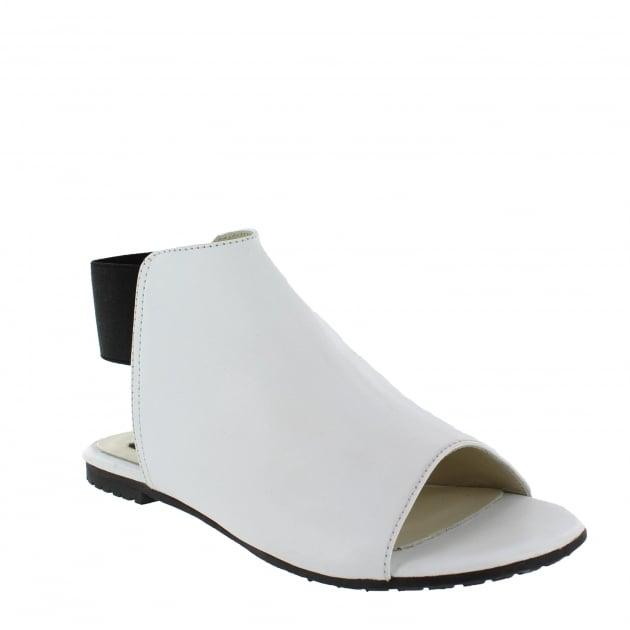 Marta Jonsson Womens Slingback Flat Sandal 6621L White