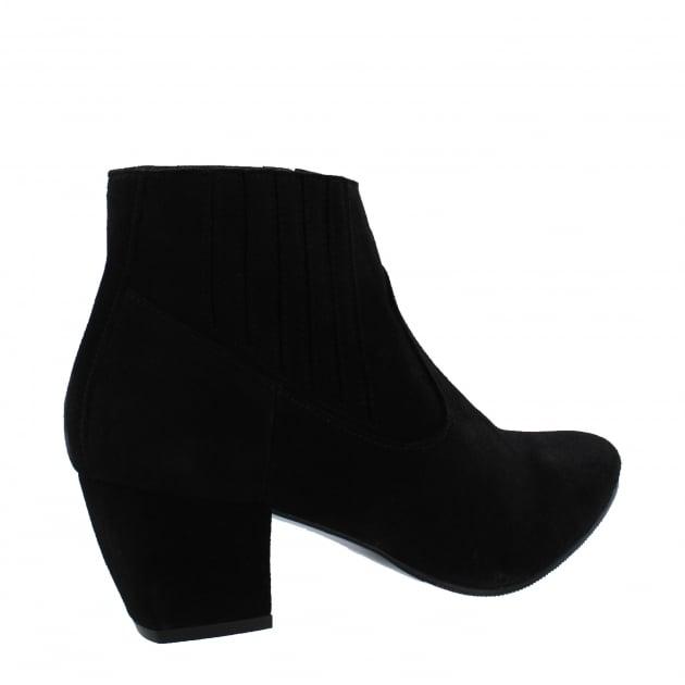 Womens Slip On Ankle Boot 2136S Black