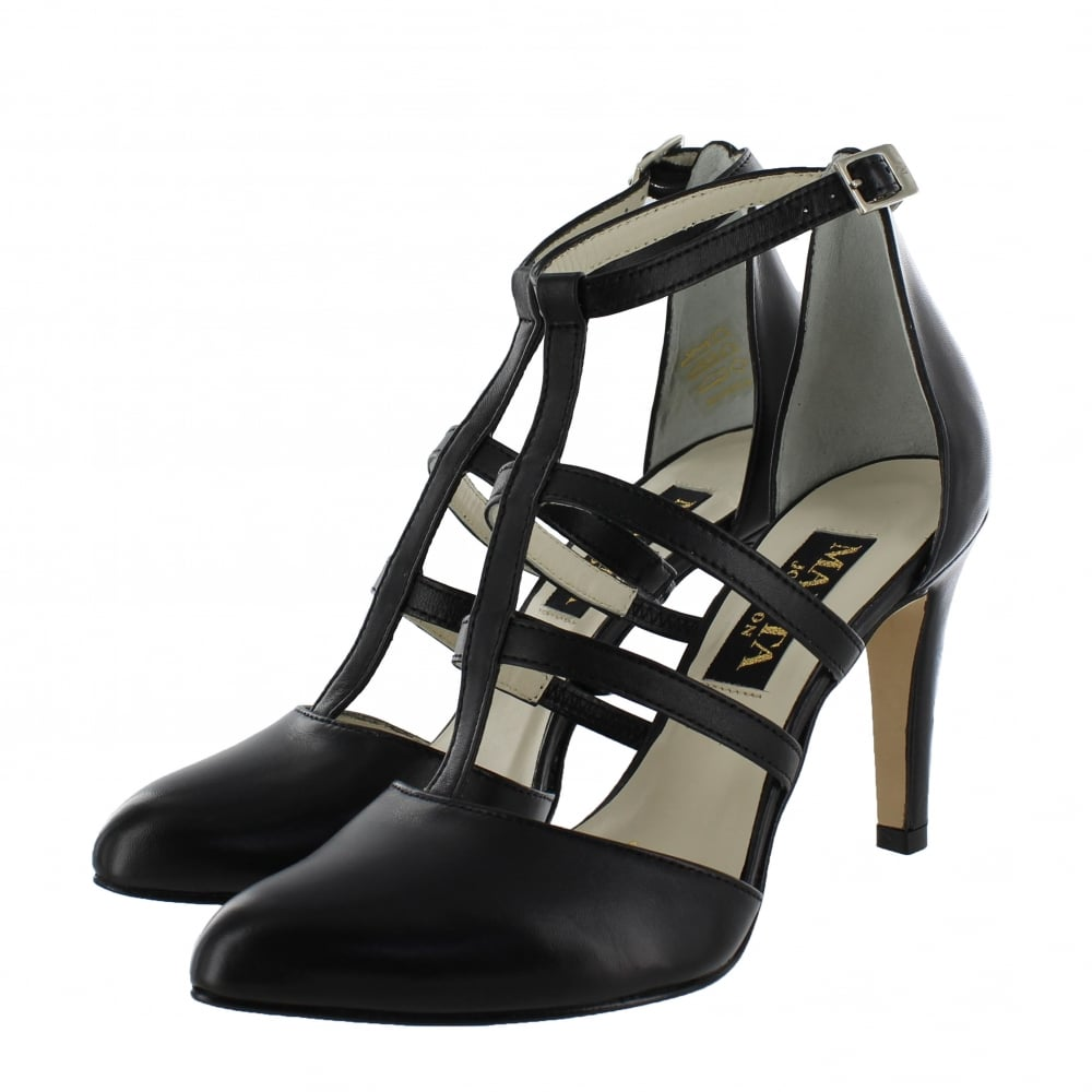 marta jonsson womens strappy court shoes 1516l s