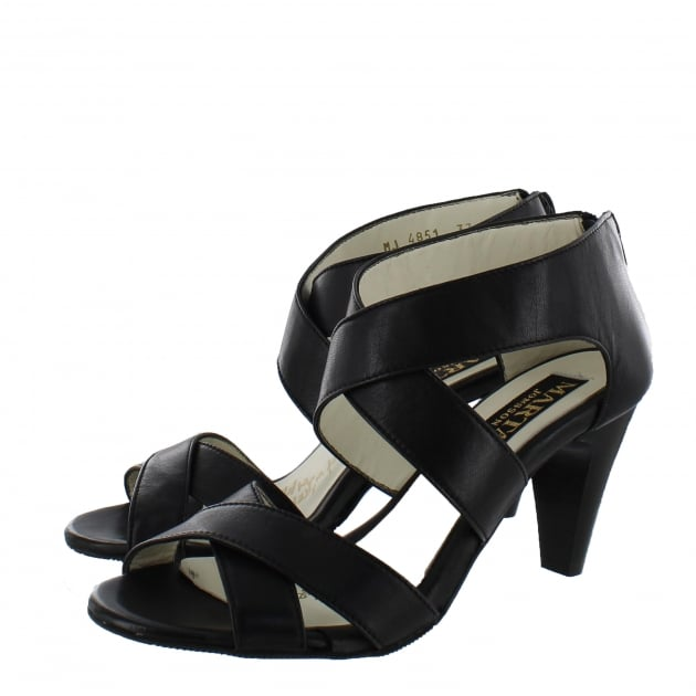 Womens Strappy Sandals 4851L Black