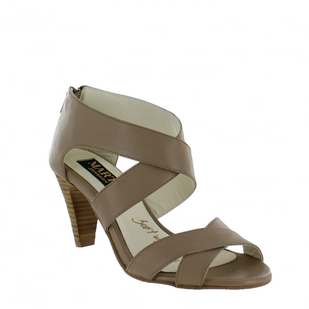 Marta Jonsson Womens Strappy Sandals 4851L Tofu