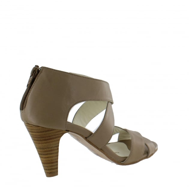 Womens Strappy Sandals 4851L Tofu