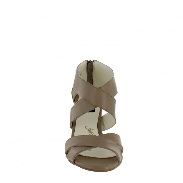 Marta Jonsson Womens Strappy Sandals 4851L Tofu Sandals