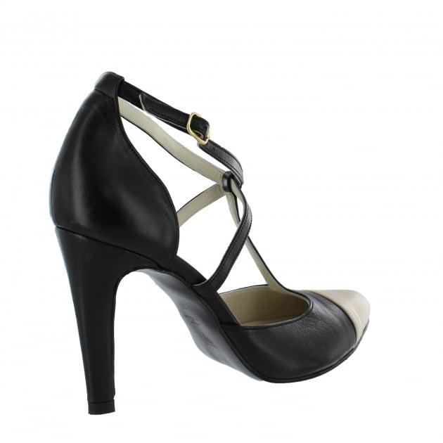 Womens T Bar Court Shoe 2190L Black