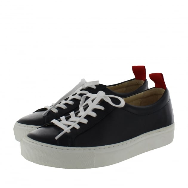 Marta Jonsson Womens Trainers 4088L Navy Shoes