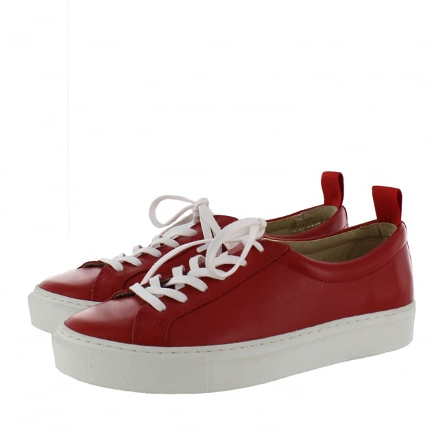 Marta Jonsson Womens Trainers 4088L Red Shoes