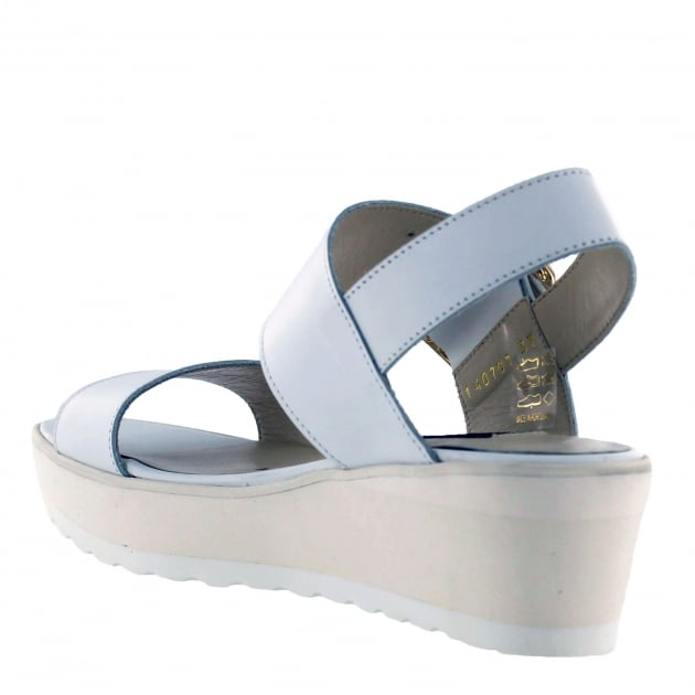 Womens Wedge Sandals 1471L White